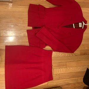 Blazer and Skirt set